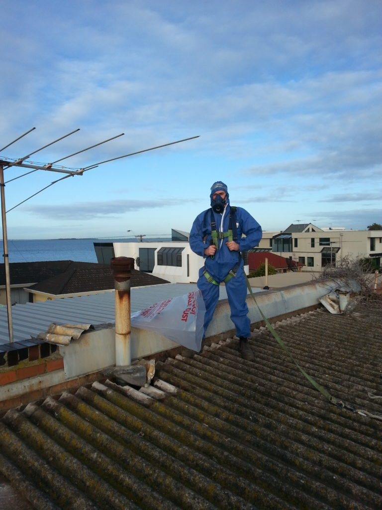 Asbestos Roof Removal 2
