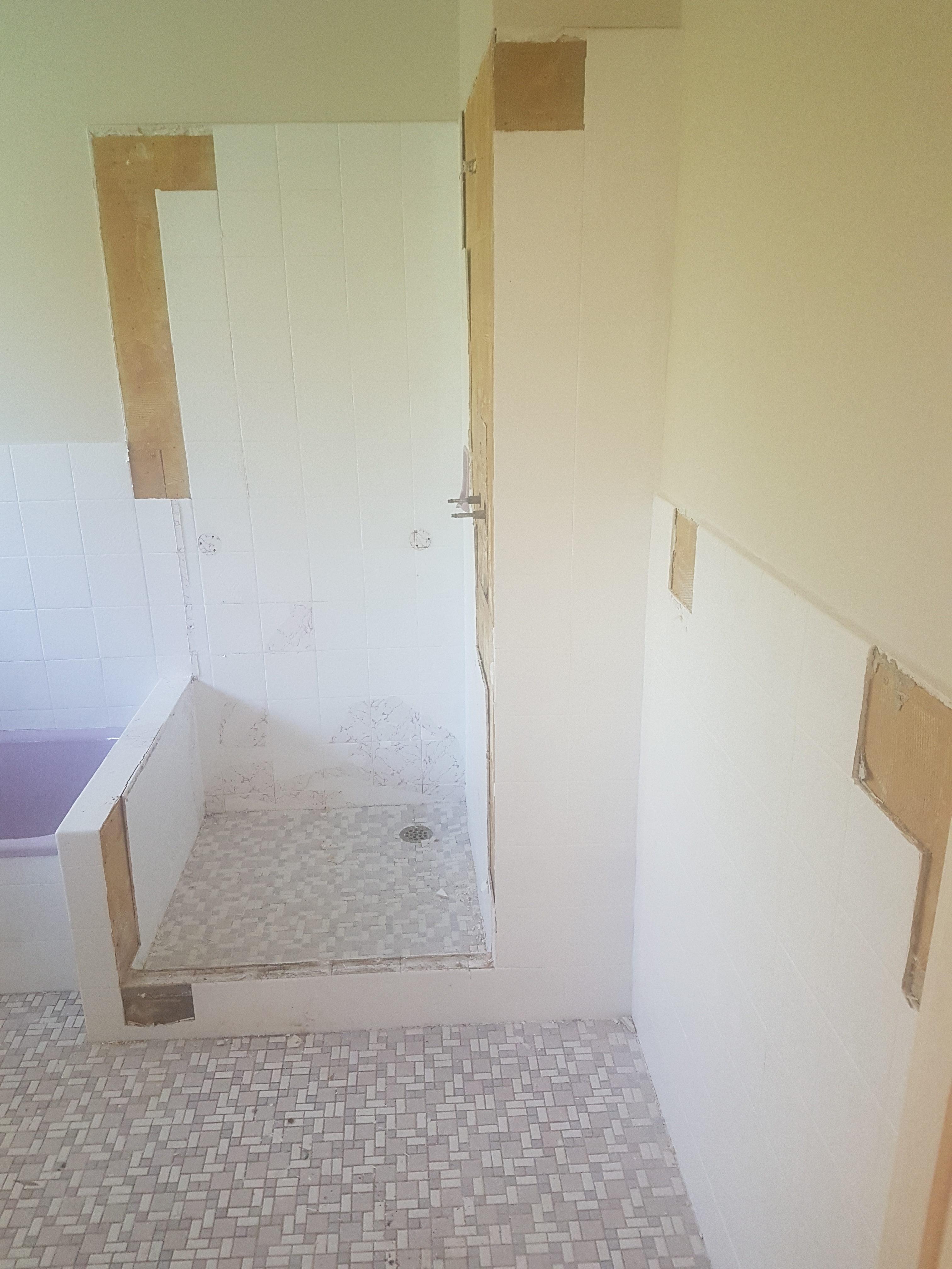 Bathroom Start to Finish
