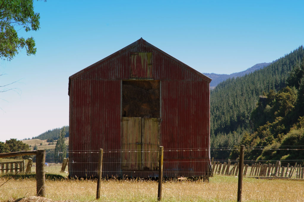 Old Barn ready for Demolition