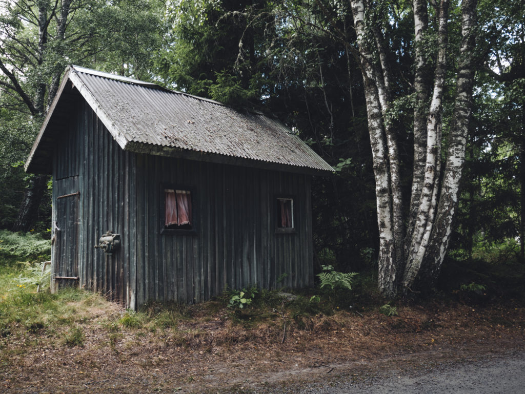 Old Small Cabin